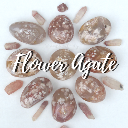 Flower Agate Collection from Simply Affinity