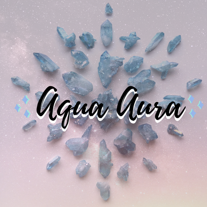 Aqua Aura Arkansas Quartz from Simply Affinity