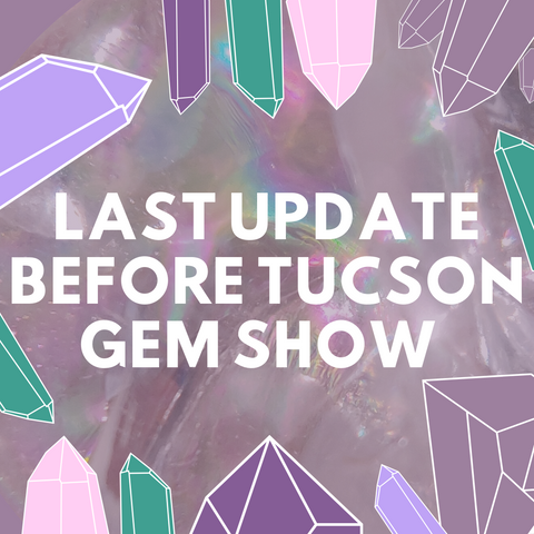 Gem Show Shop Update
