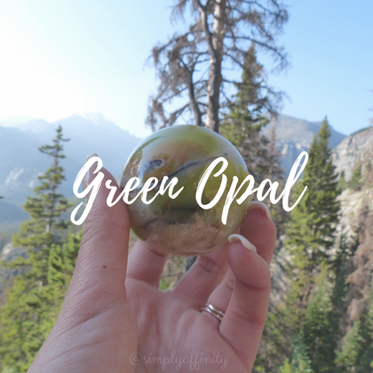 Green Opal Collection from Simply Affinity