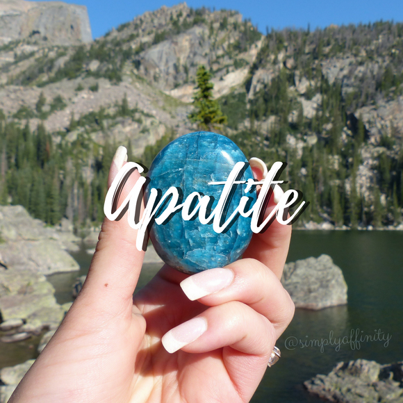Blue Apatite Collection from Simply Affinity