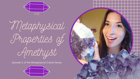 The Metaphysical Properties of Amethyst Video by Simply Affinity