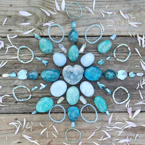 Peace and Serenity Crystal Grid