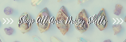 Aura Druzy Shell Collection