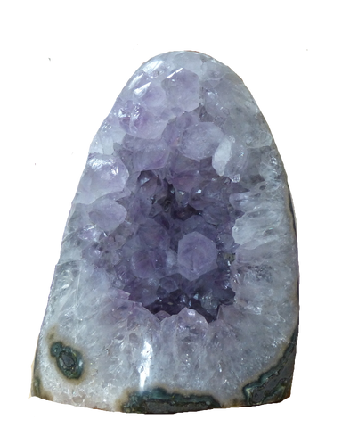Polished Brazilian Amethyst Geode Cathedral from Simply Affinity