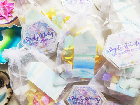 Handmade Packaging for Orders from Simply Affinity