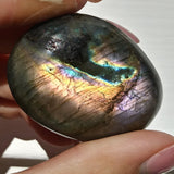 Purple Labradorite Palm Stone (#69)