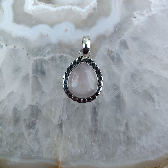 Rose Quartz Pendant #1