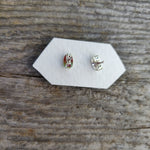 Shiva Eye Shell Stud Earrings (#1)
