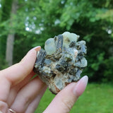 Prehnite Specimen in Epidote Matrix (#3)
