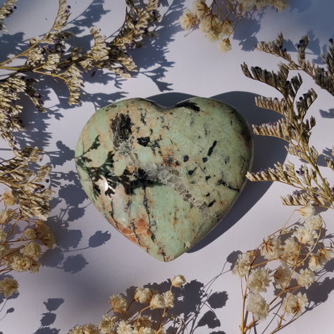 NEW Find! Calcozite Heart (#J3)