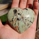 NEW Find from Madagascar!  Calcozite Heart (#J3)