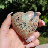NEW Find from Madagascar! Calcozite Heart (#J1)