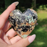 NEW Find from Madagascar!  Calcozite Heart (#J2)