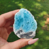 Polished Larimar Slab (#J10)