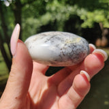 Dendritic Opal Palm Stone (#26)