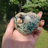 Reserved for Sarah, NEW Find! Calcozite Heart (#J4)