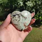 NEW Find from Madagascar! Calcozite Heart (#J5)