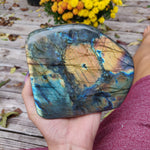 Large Labradorite Free Form over 3.75 LB! (#A7)