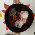 Autumn Leaves Coconut Bowl (#A2, #A3)