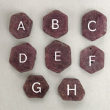 Hexagonal Ruby (pick your favorite)