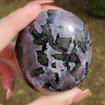 Mystic Merlinite Palm Stone with Flash (#3)