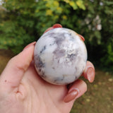 Purple Dendritic Opal  Palm Stone (#8)