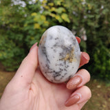 Dendritic Opal  Palm Stone (#14)