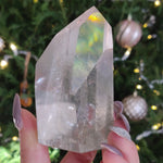 Garden Quartz Point, Lodolite Point (#5)