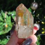 Garden Quartz Point with Black Tourmaline Inclusions (#7)