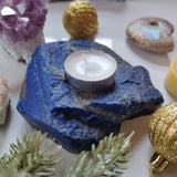 Lapis Candle Holder (#2)