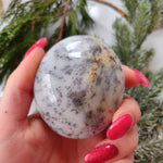 Dendritic Opal  Palm Stone (#22)