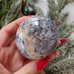 Dendritic Opal  Palm Stone (#21)
