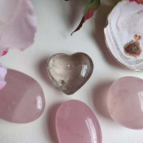 Smoky Quartz Heart (#4)