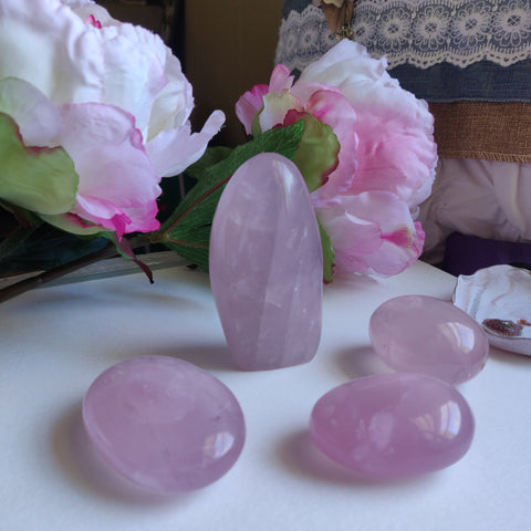 Rose Quartz Free Form (#1)