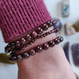 Faceted Garnet Bracelet