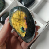 Reserved for Selena, Labradorite Palm Stone
