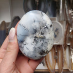 Dendritic Opal Palm Stone (#33)