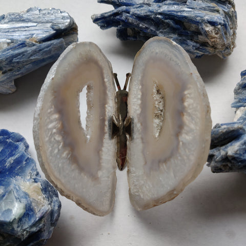 Natural Agate Butterfly (#2)