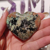 NEW Find from Madagascar! Calcozite Heart (#7)