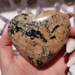 NEW Find from Madagascar! Calcozite Heart (#4)