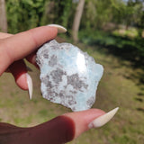 Polished Larimar Slab (#17)