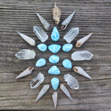 Reserved for Arianna  - Custom Lot of Larimar Cabochons