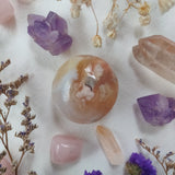 Flower Agate Pocket Stone (#10)