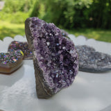 Amethyst Geode Free Form, Cut Base (#5)
