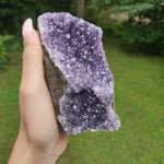 Amethyst Geode Free Form, Cut Base (#31)