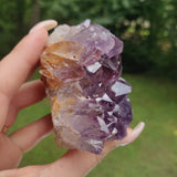 Amethyst Geode Free Form, Cut Base (#15)