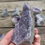Amethyst Geode Free Form, Cut Base (#14)