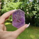 Amethyst Point, Polished Point with Rough Base (#1)