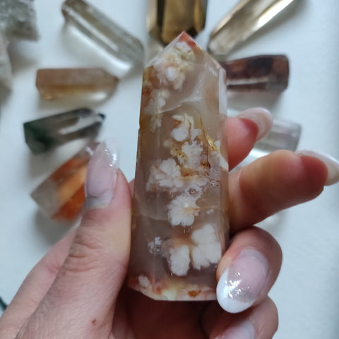 Flower Agate Tower (#5)